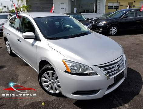 2015 Nissan Sentra for sale in Hollywood, FL