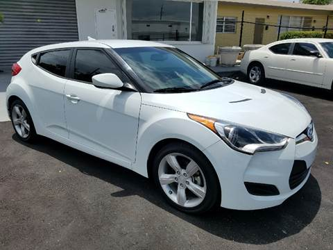 2014 Hyundai Veloster for sale in Hollywood, FL