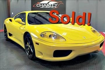 2004 Ferrari 360 Modena for sale in Spicewood, TX