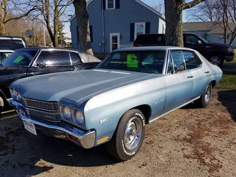 1970 Chevrolet Chevelle Malibu for sale in Hewitt, WI