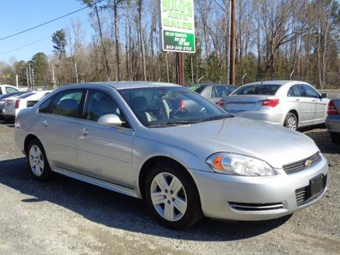 2011 Chevrolet Impala for sale in Timmonsville, SC