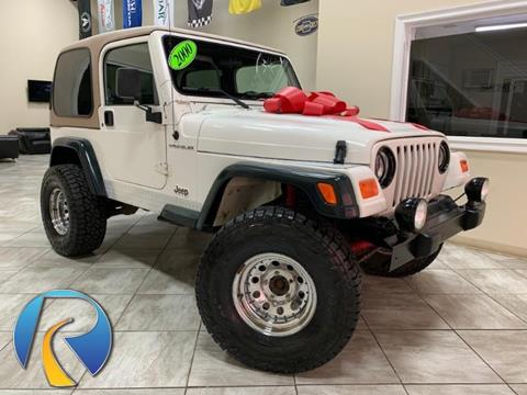 2000 Jeep Wrangler for sale in Roselle, IL