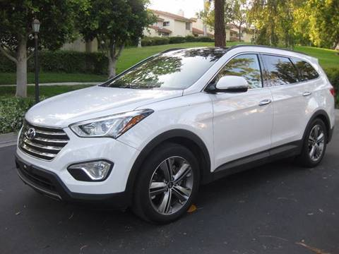 2014 Hyundai Santa Fe for sale at E MOTORCARS in Fullerton CA