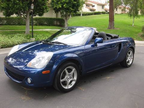 2003 Toyota MR2 Spyder for sale at E MOTORCARS in Fullerton CA