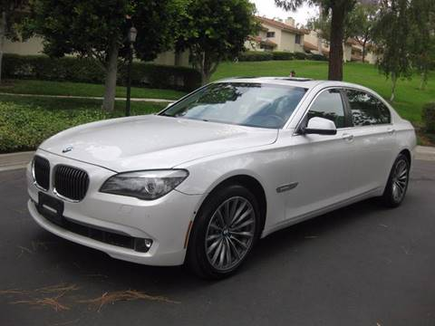 2011 BMW 7 Series for sale at E MOTORCARS in Fullerton CA