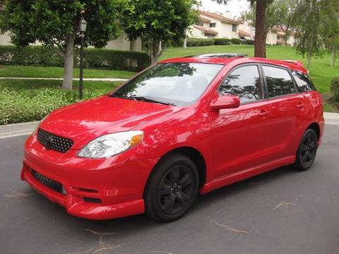 2004 Toyota Matrix for sale at E MOTORCARS in Fullerton CA