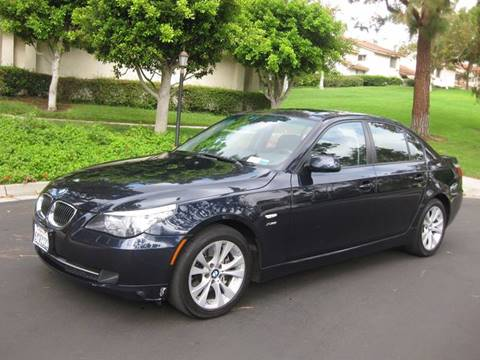 2009 BMW 5 Series for sale at E MOTORCARS in Fullerton CA