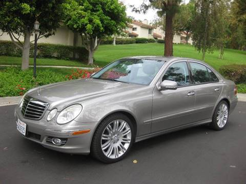 2008 Mercedes-Benz E-Class for sale at E MOTORCARS in Fullerton CA