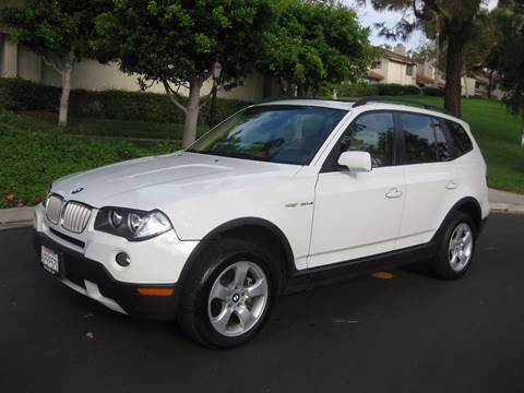 2008 BMW X3 for sale at E MOTORCARS in Fullerton CA