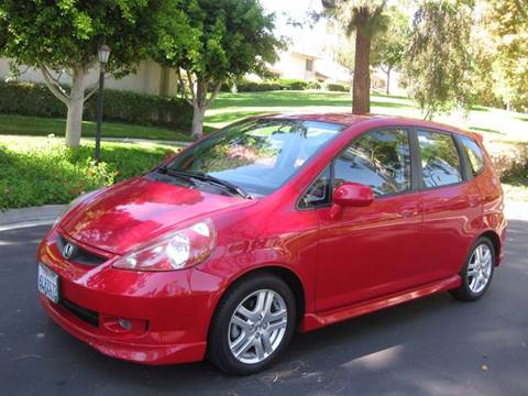 2008 Honda Fit for sale at E MOTORCARS in Fullerton CA