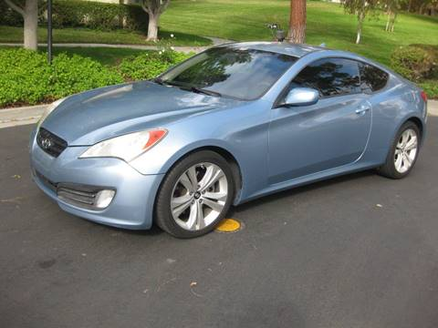 2010 Hyundai Genesis Coupe for sale at E MOTORCARS in Fullerton CA