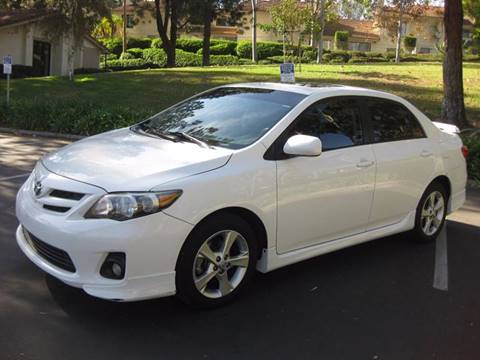 2011 Toyota Corolla for sale at E MOTORCARS in Fullerton CA