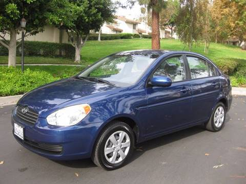 2010 Hyundai Accent for sale at E MOTORCARS in Fullerton CA