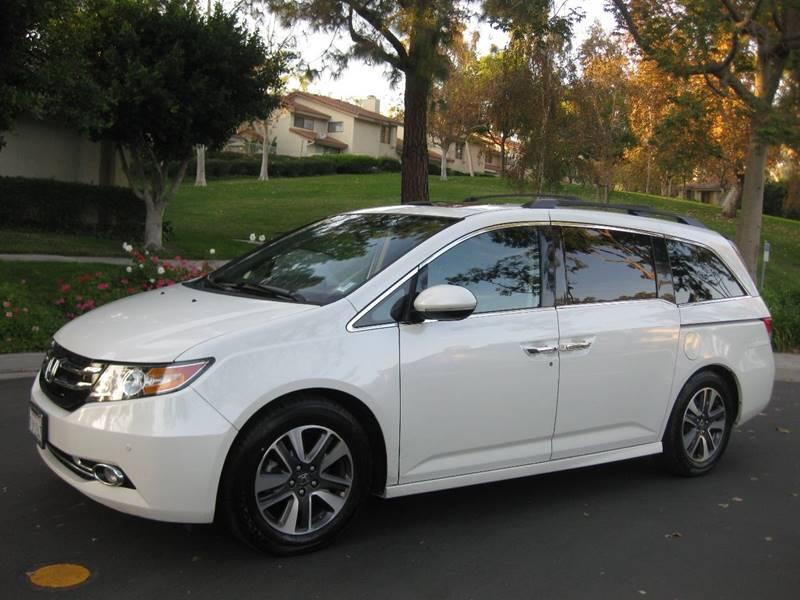 2015 Honda Odyssey for sale at E MOTORCARS in Fullerton CA