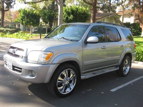 2005 Toyota Sequoia for sale at E MOTORCARS in Fullerton CA
