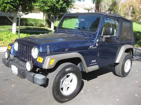 2006 Jeep Wrangler for sale at E MOTORCARS in Fullerton CA