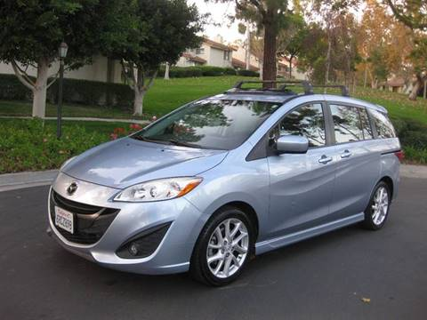 2012 Mazda MAZDA5 for sale at E MOTORCARS in Fullerton CA
