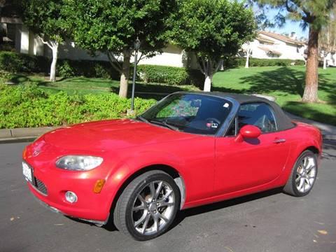 2006 Mazda MX-5 Miata for sale at E MOTORCARS in Fullerton CA
