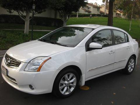 2012 Nissan Sentra for sale at E MOTORCARS in Fullerton CA