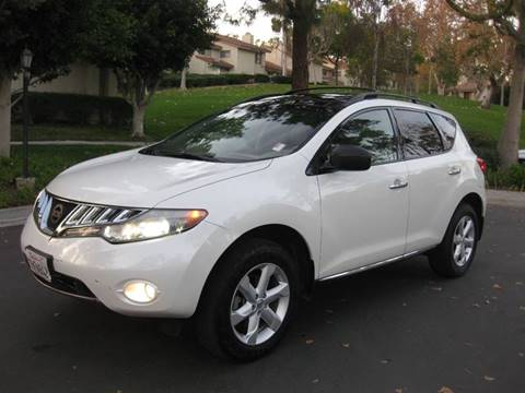 2010 Nissan Murano for sale at E MOTORCARS in Fullerton CA