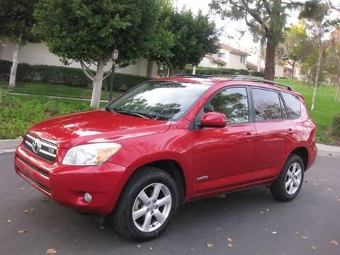 2007 Toyota RAV4 for sale at E MOTORCARS in Fullerton CA