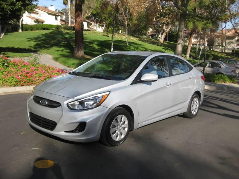 2015 Hyundai Accent for sale at E MOTORCARS in Fullerton CA