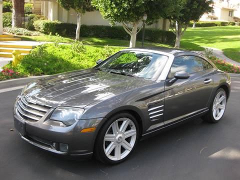 2004 Chrysler Crossfire for sale at E MOTORCARS in Fullerton CA