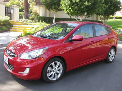 2012 Hyundai Accent for sale at E MOTORCARS in Fullerton CA