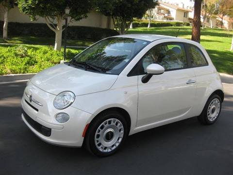 2012 FIAT 500 for sale at E MOTORCARS in Fullerton CA