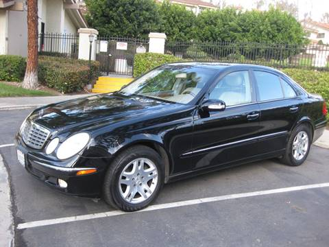 2005 Mercedes-Benz E-Class for sale at E MOTORCARS in Fullerton CA