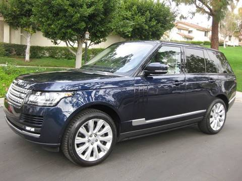 2015 Land Rover Range Rover for sale at E MOTORCARS in Fullerton CA