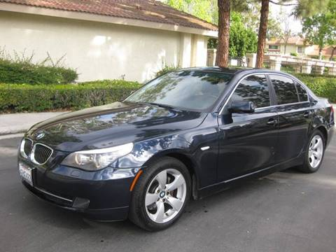 2008 BMW 5 Series for sale at E MOTORCARS in Fullerton CA