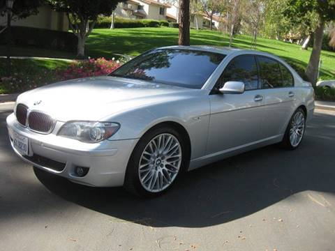 2008 BMW 7 Series for sale at E MOTORCARS in Fullerton CA