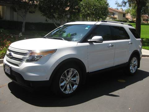 2013 Ford Explorer for sale at E MOTORCARS in Fullerton CA
