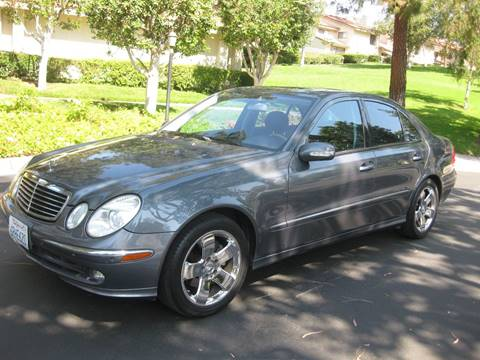 2006 Mercedes-Benz E-Class for sale at E MOTORCARS in Fullerton CA