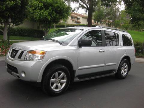 2015 Nissan Armada for sale at E MOTORCARS in Fullerton CA