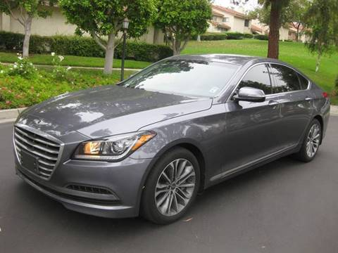 2015 Hyundai Genesis for sale at E MOTORCARS in Fullerton CA