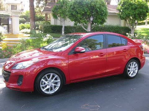 2012 Mazda MAZDA3 for sale at E MOTORCARS in Fullerton CA