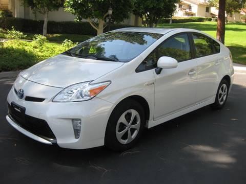 2015 Toyota Prius for sale at E MOTORCARS in Fullerton CA