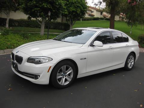 2011 BMW 5 Series for sale at E MOTORCARS in Fullerton CA