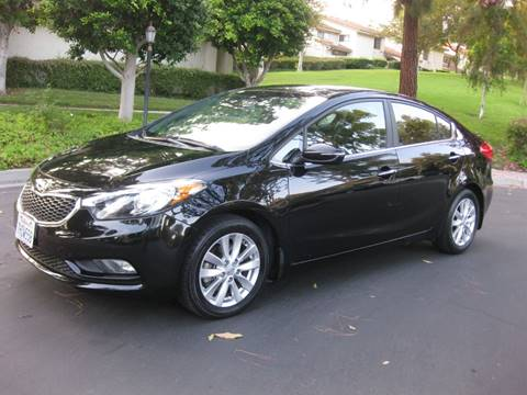 2014 Kia Forte for sale at E MOTORCARS in Fullerton CA