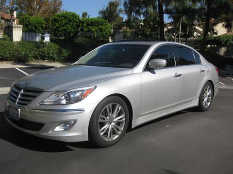 2012 Hyundai Genesis for sale at E MOTORCARS in Fullerton CA