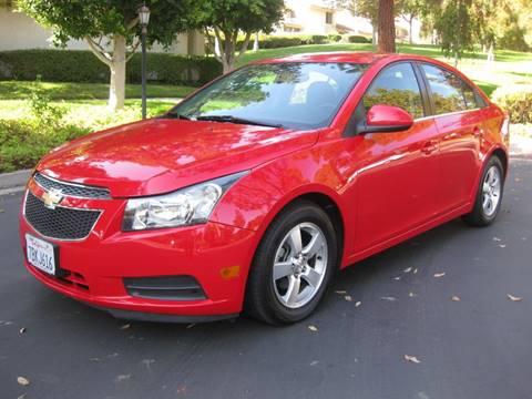 2014 Chevrolet Cruze for sale at E MOTORCARS in Fullerton CA