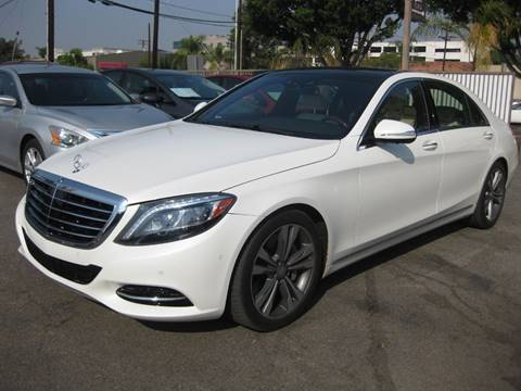 2016 Mercedes-Benz S-Class for sale at E MOTORCARS in Fullerton CA