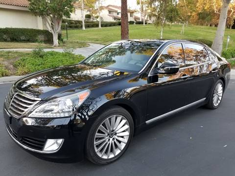 2016 Hyundai Equus for sale at E MOTORCARS in Fullerton CA
