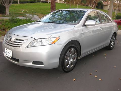 2007 Toyota Camry for sale at E MOTORCARS in Fullerton CA