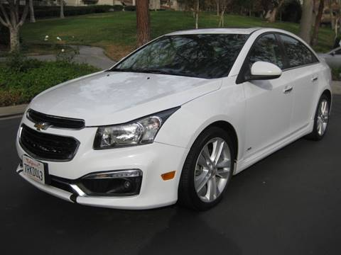 2016 Chevrolet Cruze Limited for sale at E MOTORCARS in Fullerton CA
