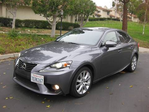 2014 Lexus IS 250 for sale at E MOTORCARS in Fullerton CA