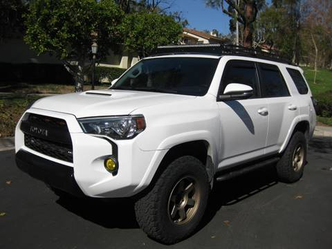 2016 Toyota 4Runner for sale at E MOTORCARS in Fullerton CA