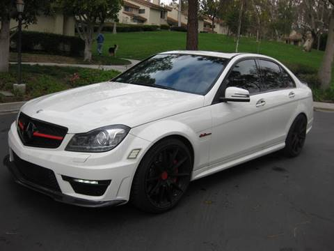 2012 Mercedes-Benz C-Class for sale at E MOTORCARS in Fullerton CA
